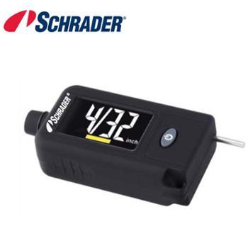 英国Schrader高精度数显胎压计胎压监测胎压表胎纹尺