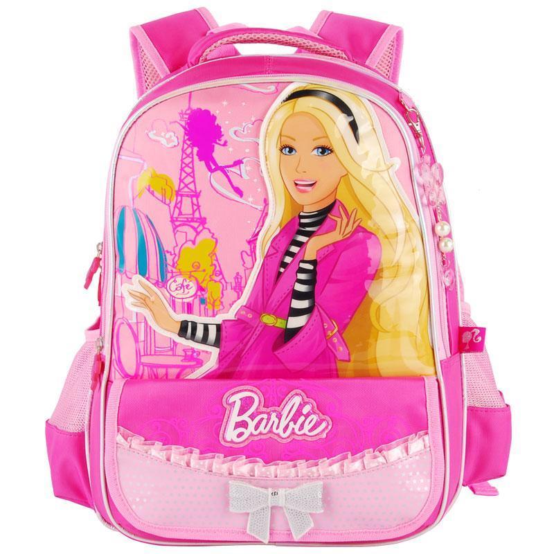 芭比娃娃书包 小学生女生可爱双肩背包