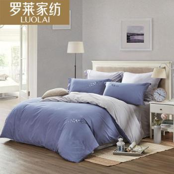 罗莱家纺TGAY213梦想起航全棉四件套床上用品
