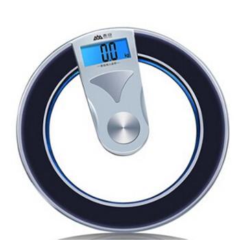 香山(CAMRY)EB8504H电子称人体称称重健康秤圆形