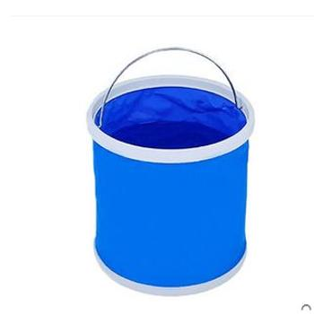逸卡汽车车载洗车水桶伸缩桶可折叠便携式折叠车用水桶户外钓鱼储水桶