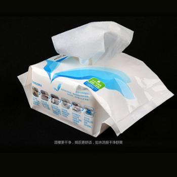 氏氏美湿厕纸家庭组合装如厕湿纸巾卫生纸湿巾私处清洁150抽*3包