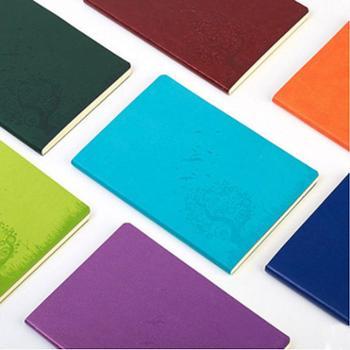 博文创意软皮笔记本A5记事本商务日记本办公用品文具随身本子