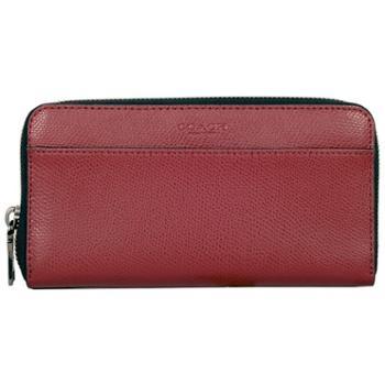 蔻驰(COACH)男包 男士长款钱包 短钱夹 手拿包 F74977 红色(BCY)