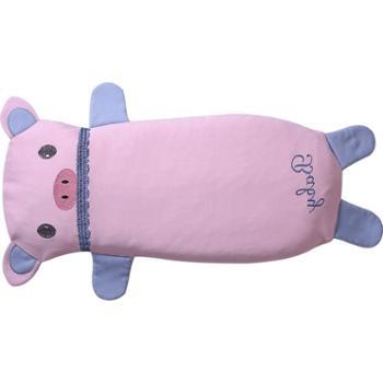 龙之涵宝宝四季针织布透气加长枕头1-3-6-12岁儿童幼儿园卡通婴儿枕