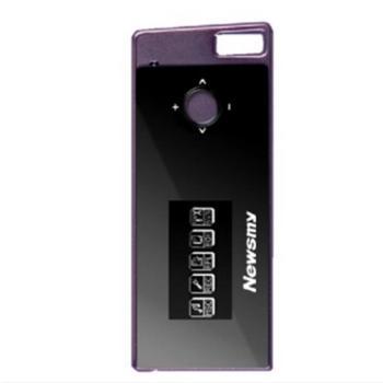 纽曼(Newsmy) B30 8G 纽曼之音mp3播放器 歌词同步 浪漫棕紫 精致小巧外观