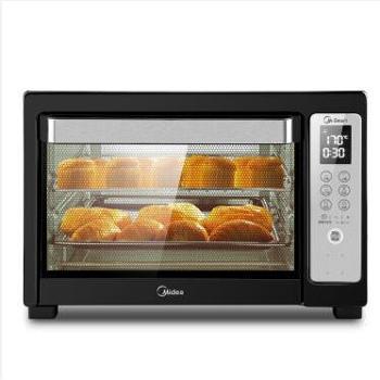 美的 (Midea) T7-L384D 智能电烤箱 38L