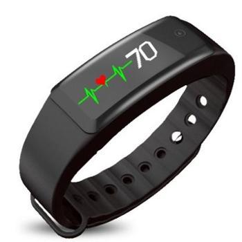 全程通W3智能心率手环 微信互联 信息显示触控大屏30米防水男女运动手表 苹果华为小米手机通用