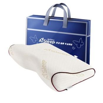 睡眠博士(AiSleep)枕芯 蝶形磁石记忆枕 慢回弹枕芯 太空护颈枕 枕头