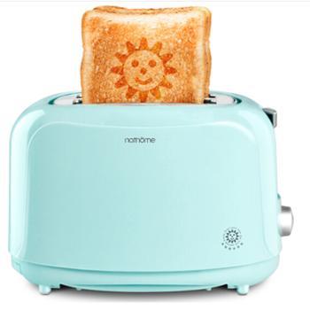 北欧欧慕(nathome)烤面包机家用多士炉吐司机 NDS680
