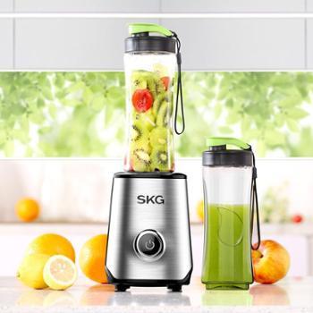 海南区回馈:SKG2097便携榨汁机家用迷你小型榨汁机多功能便携果汁机随身杯
