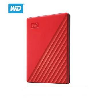 WD/西部数据移动硬盘2tMyPassport2tb移动硬移动盘USB3.0