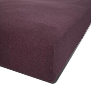 洁帛针织纯棉新疆棉单人双人紫色床罩床裙床笠床单特价包邮床笠尺寸150x200cm