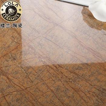 楼兰瓷砖 釉面砖 客厅 现代欧式 800x800
