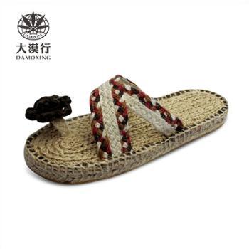 大漠行麻鞋 女款 凉拖 DM2241