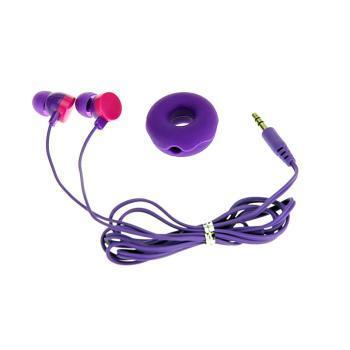奇卡耳机 ka-10 魔幻多彩圆形圈圈可爱入耳式耳机