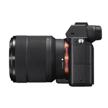 Sony/索尼ILCE-7M2 全画幅微单相机 5轴防抖 全画幅4K摄像 含2870镜头 7M2 镜头防抖 混合自动对焦 阿尔法 专业机 高速连拍相机