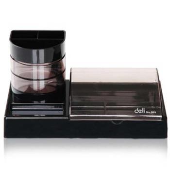 得力(Deli)903多功能实用型带笔筒组合办公盒