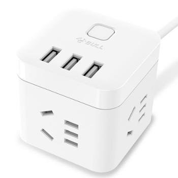 公牛BULLGN-U303U迷你USB插座