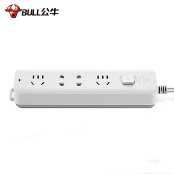 公牛(BULL)GN-B72201.8米新国标电源插座