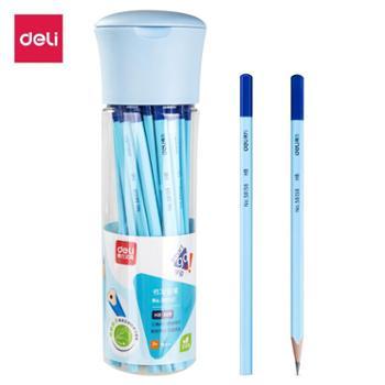 得力58162HB书写铅笔30支/筒