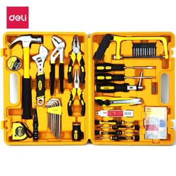 得力(deli)53件套多功能组合工具箱3703