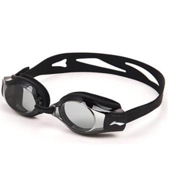 李宁高清防雾泳镜男女成人防水游泳镜近视游泳眼镜LSJK508