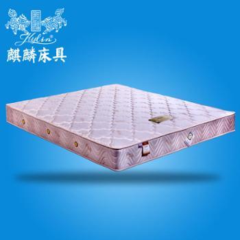 麒麟席梦思乳胶床垫店庆特价床垫分区独立袋装弹簧玄武雅韵包邮