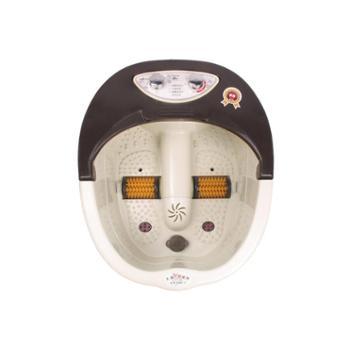 狮傲康足浴盆SAK-650电动滚轮/定时定温/手提设计/内置药盒