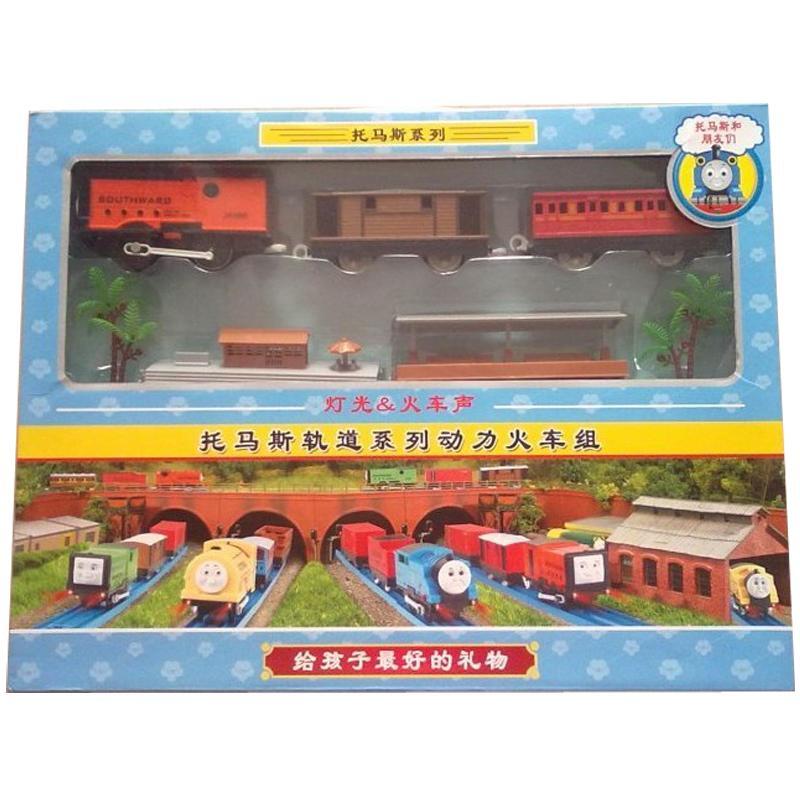奋发 儿童玩具 小火车 托马斯电动轨道火车套装 2010 4