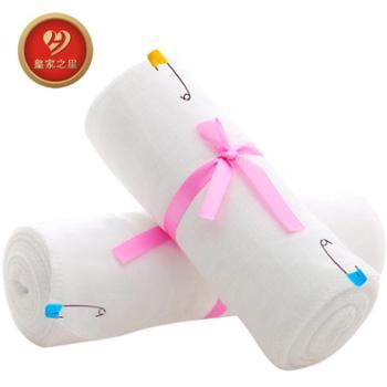 皇家之星 产后塑身束缚带孕妇产后纱布收腹带(2卷)701单层 共24米