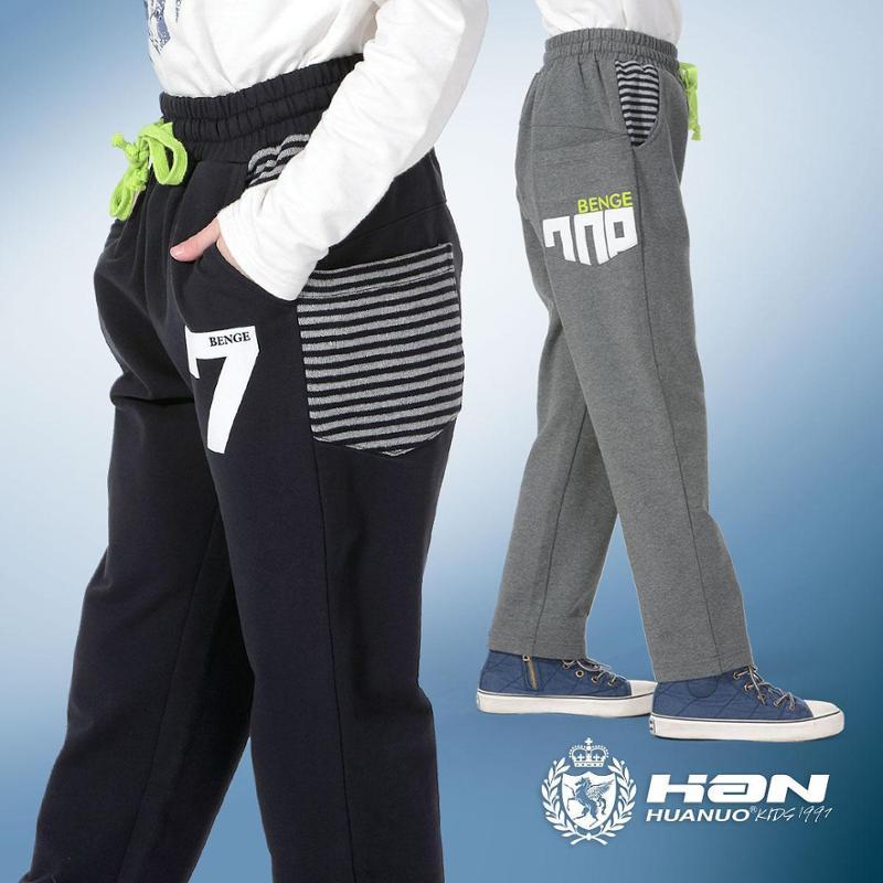 2014新款男童休闲裤 童装长裤纯棉裤子儿童针织裤 13-15岁大码