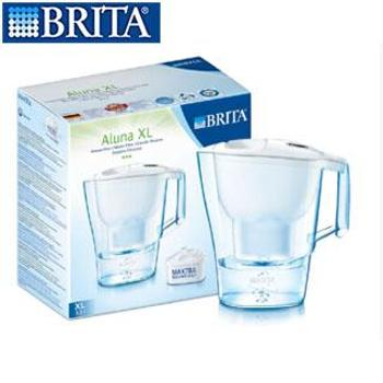 Brita/德国碧然德 原装进口净水壶 摩登系列Aluna-XL-3.5L-W 单芯装