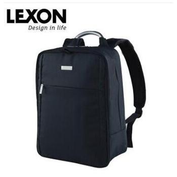 乐上lexon男士商务14寸背包 LNB0513 黑色