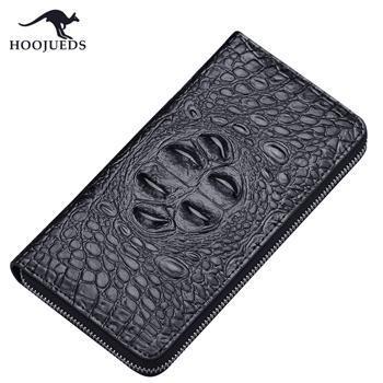 豪爵袋鼠 DS1068 男士拉链包手拿包钱包