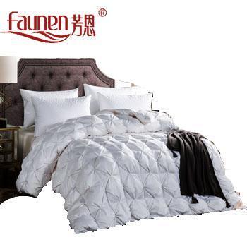 芳恩 FN-B480 奢华全棉白鹅绒被 冬被 春秋被