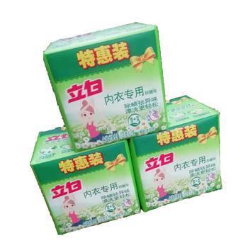 立白 内衣专用除菌皂 除螨去异味 漂洗更轻松 3包 共6块