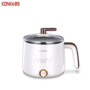 康佳家用多功能不锈钢电煮锅 KGZG-15S01