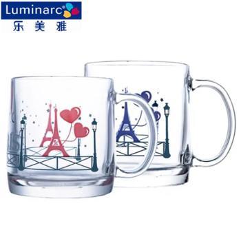 乐美雅 诺卡钢化温感变色对杯 380ml*2 L9047