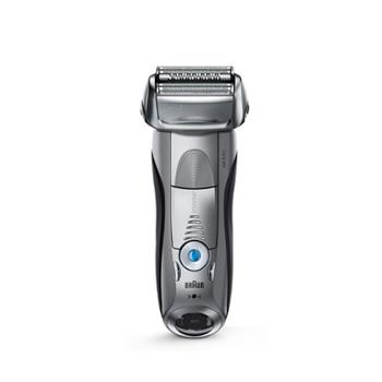 博朗 全身水洗往复充电式三刀头干湿两用电动剃须刀 智能声波技术 7893PS-gift