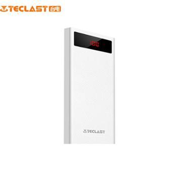 台电T200CG移动电源超薄数显大容量移动电源 双输出20000毫安充电
