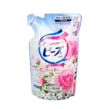 日本KAO花王洁净深层洗衣液含柔顺剂玫瑰香730g袋装