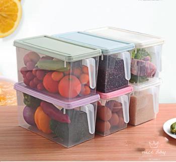 伊莲娜冰箱收纳盒四件套加厚无异味破损包补寄