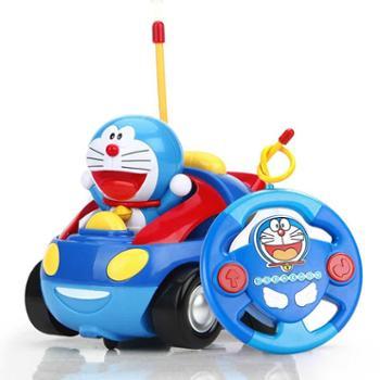 益米哆啦a梦遥控车玩具宝宝遥控赛车充电版