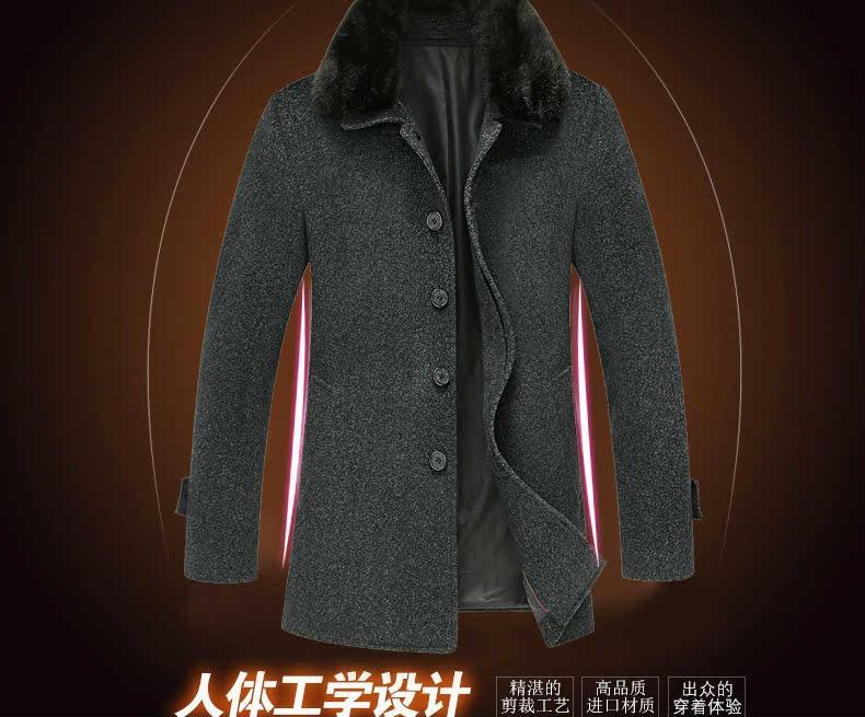 男式外套风衣_风衣男式外套 带毛