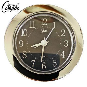 康巴丝原厂正品精钢书房床头经典跳秒设计小闹钟钟表