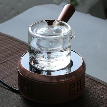 陶立方煮茶套装耐热玻璃手把壶侧把壶电陶炉煮茶器TF-5945