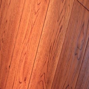 风格地板 实木地板 橡木(手工仿古)