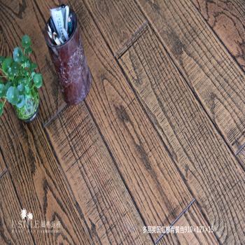 风格地板 实木多层 美国红橡