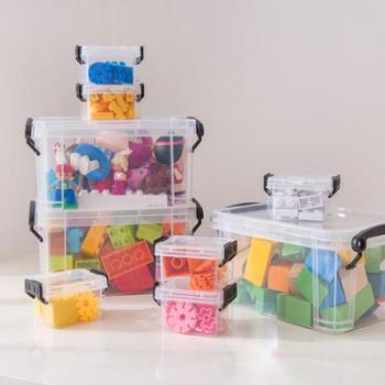 禧天龙塑料透明小号收纳盒迷你款0.15L*36647一组装